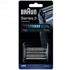 Braun Combipack 32S Zilver - Voor Series 3, Floater Technologie