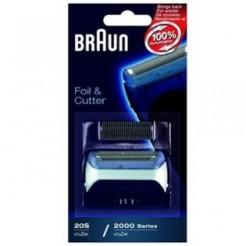 Braun Combipack 20S Zilver - voor 2000 Series en CruZer