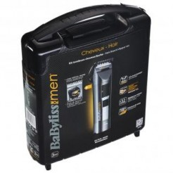 BaByliss for men E790E - Tondeuse - Wtech Titanium Turbo - Titanium messen