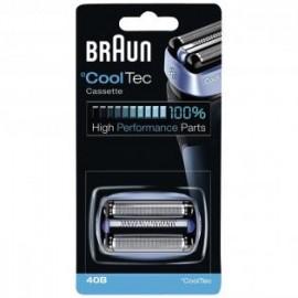 Braun 40B - Scheermesjes - Cassette - (vervangende) Scheerkop